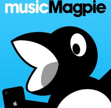 musicMagpie fapp front page