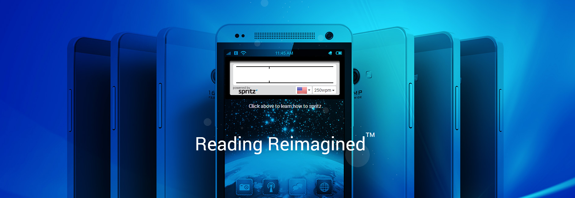 Spritz speed reading app