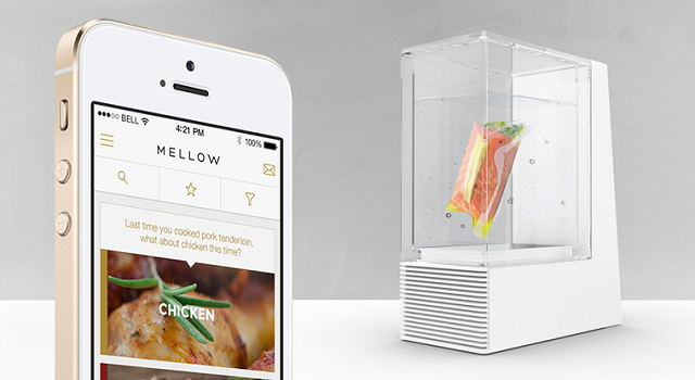 Mellow app and sous-vide machine - Noodle Live App of the Month