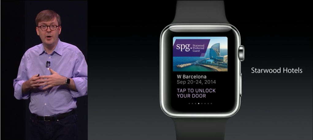 Apple Watch - Hotel Door Opening
