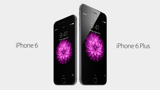 iPhone 6 and 6 Plus are bigger than previous iPhones
