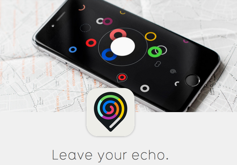 Recho App leave stories geo-located