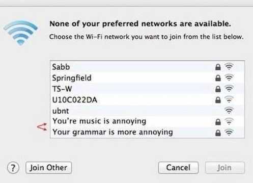 silly wi-fi names