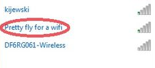 song title wi-fi name