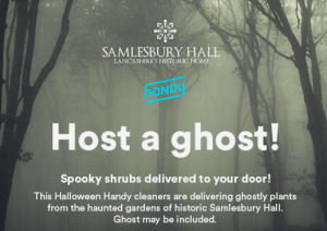 Host a ghost from Handy