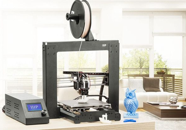 monoprice delta mini 3d printer ces