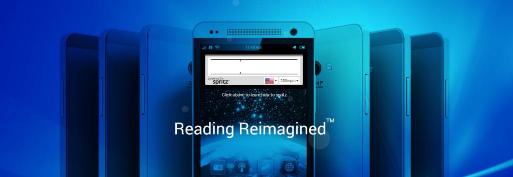 Spritz speed reading app