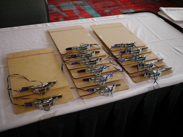 Clipboards at events - Noodle Live blog